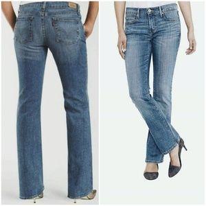 Medium Wash Levi's Boot Cut Blue Jean's